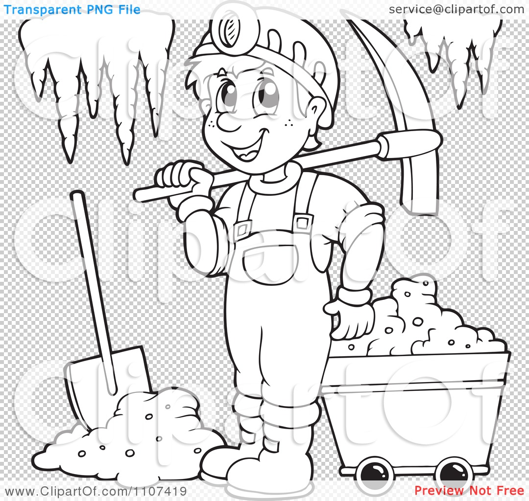 miner coloring pages - photo #48
