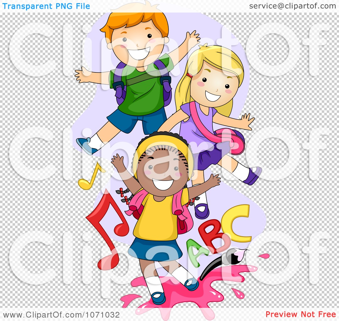 Playful kids at the fireplace. Illustration of the playful kids at the  fireplace on a white background.