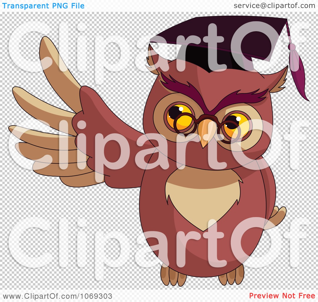 owl professor clipart - photo #37