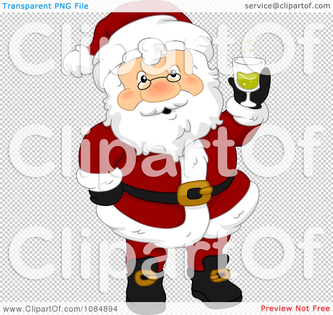 clipart santa claus holding a christmas drink royalty get dressed chore clipart get dressed school uniform clipart