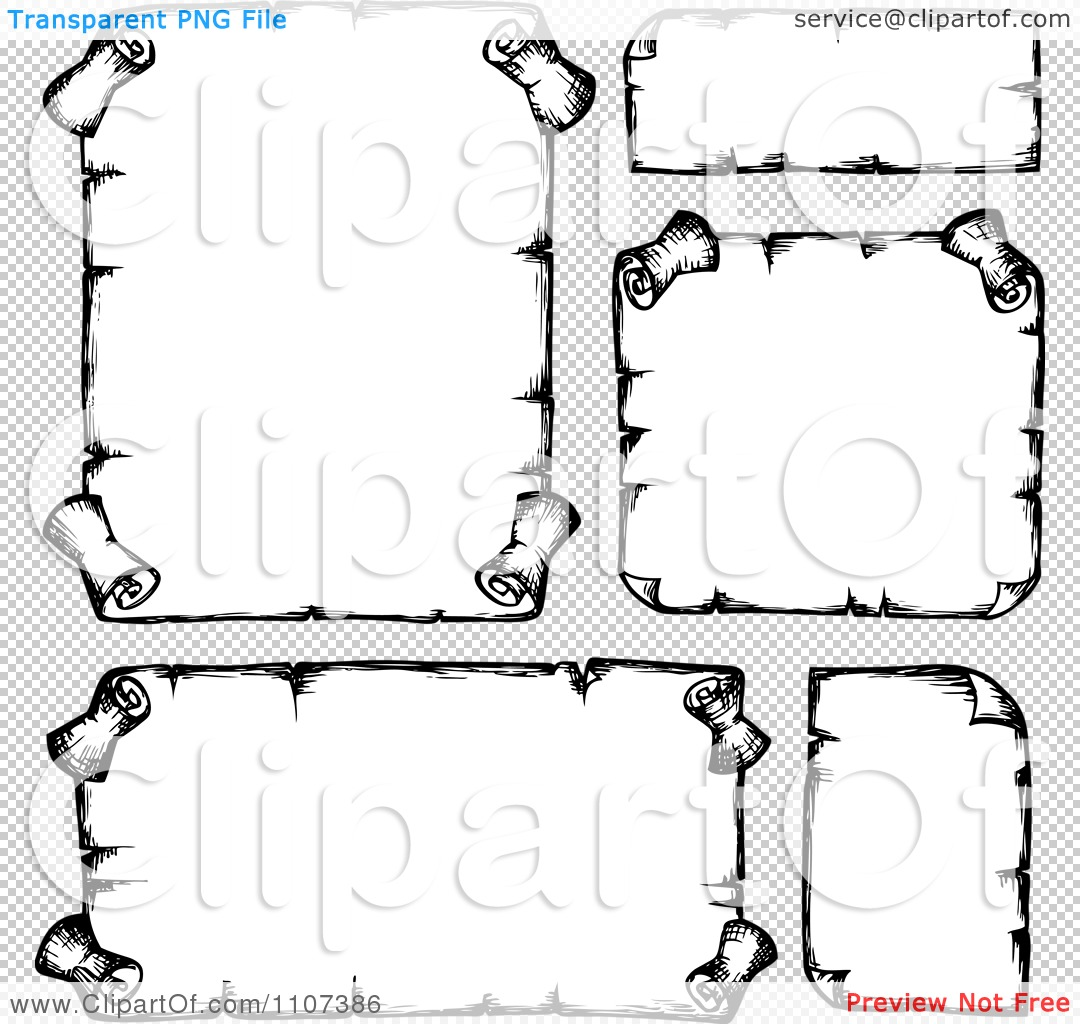 Parchment Scroll Vector  Viewing Gallery