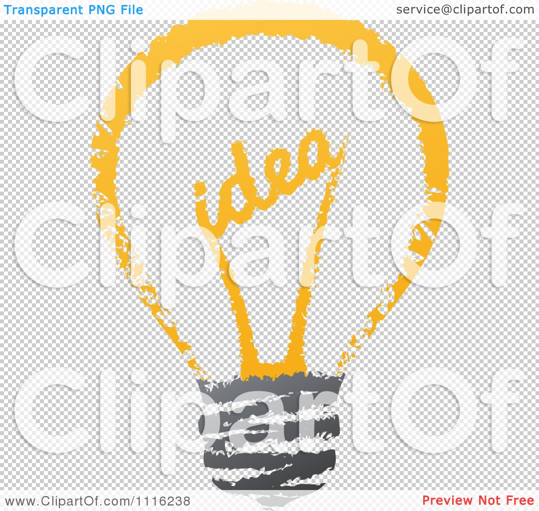 Idea Light Bulb Png The png file has a transparent