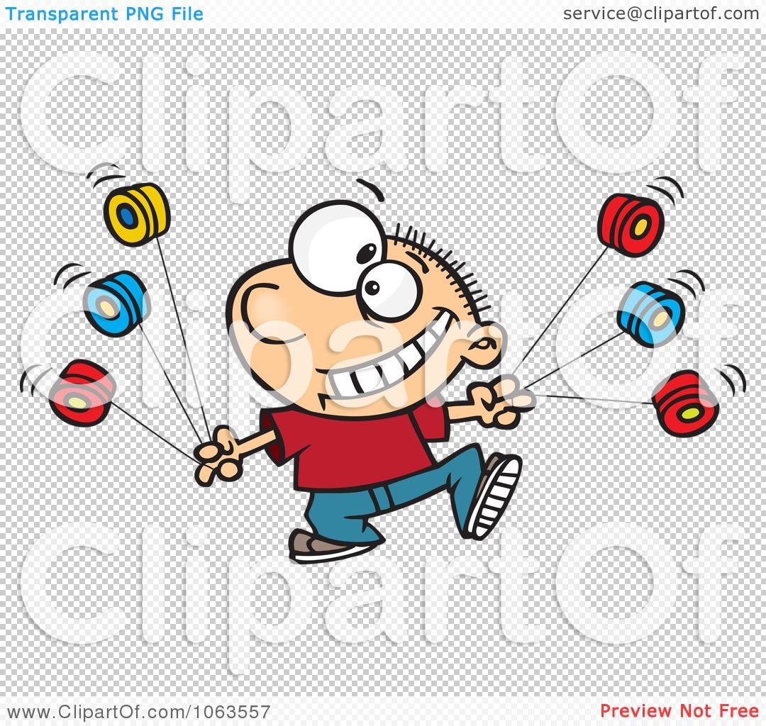 Clipart Talented Yo Yo Boy Boy - Royalty Free Vector Illustration ... for Clipart Yoyo  75sfw