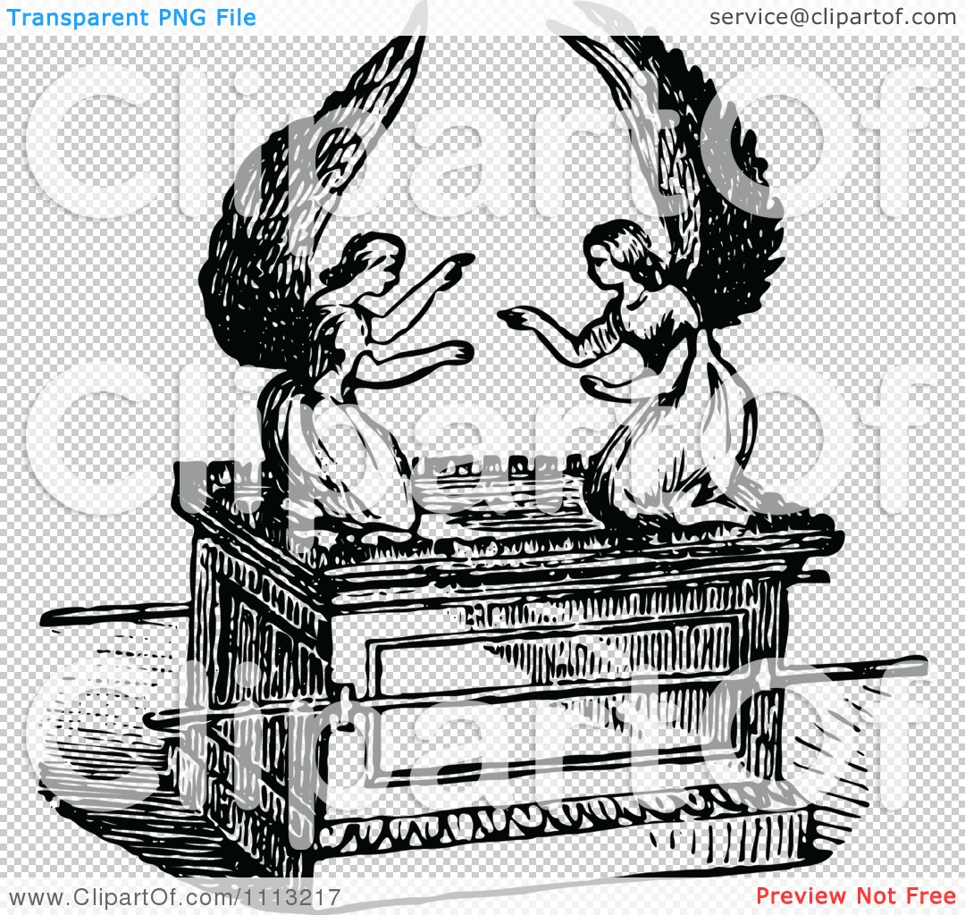 Coloring picture of the ark of covenant - Png File Has A