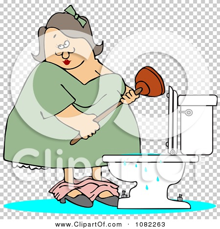 Broken Toilet Sorry Restroom Out Of Order Stock Vector - Illustration of  flooded, clipart: 113070913