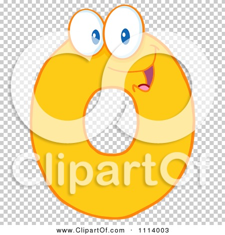 Clipart Yellow Zero Mascot - Royalty Free Vector Illustration by ...