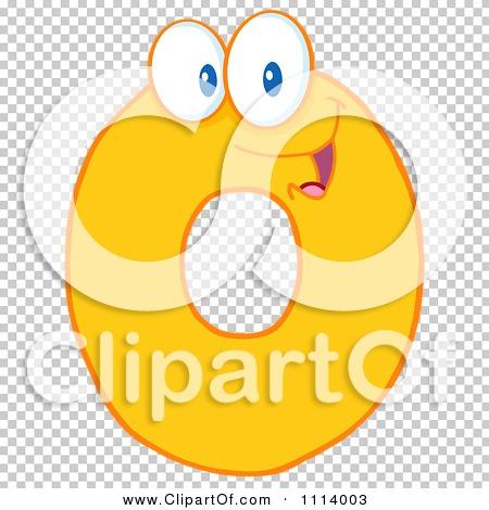 Clipart Yellow Zero Mascot - Royalty Free Vector Illustration by ...