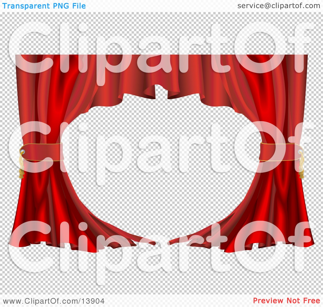 Free coloring pages of stage curtains - Png File Has A