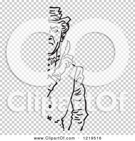 Stern Person Clipart