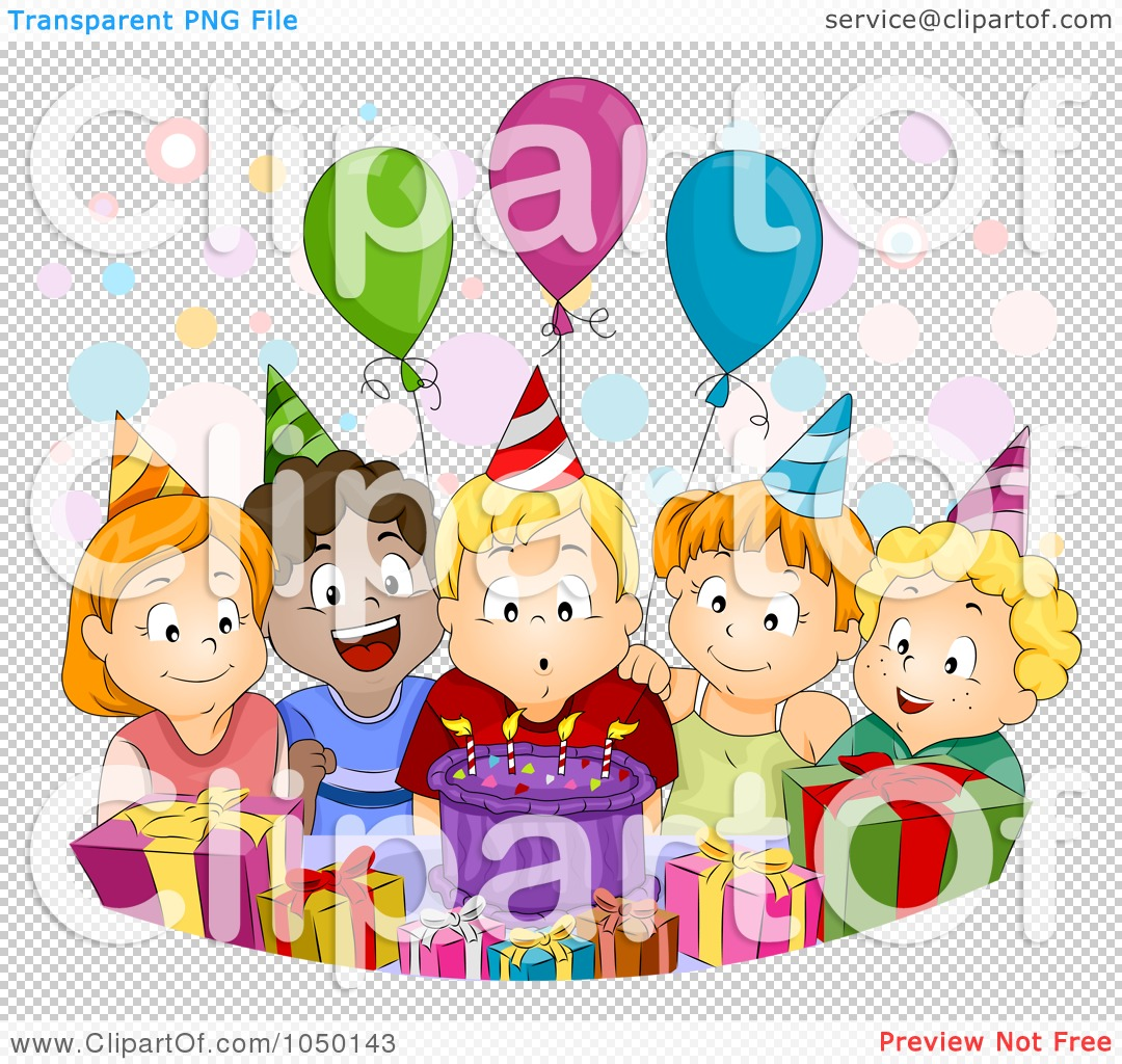 Group Celebrate Clip Art Preview clipart · diverse kids