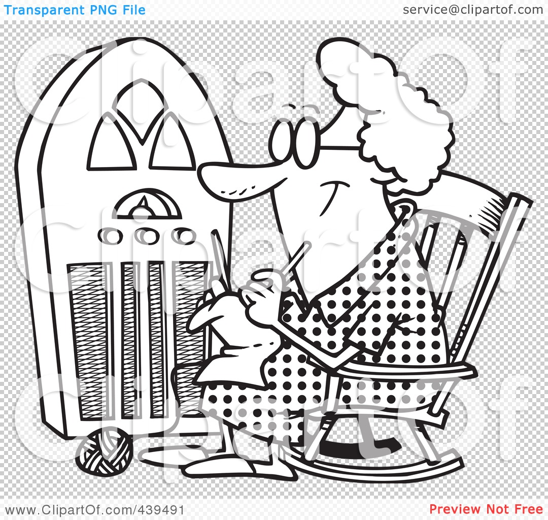 Knitting Granny Clipart : Illustrationsclip art images pictures photos basketball
