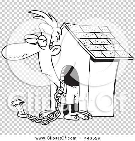 Aninimal Book: Royalty-Free (RF) Clip Art Illustration of a Cartoon Black ...