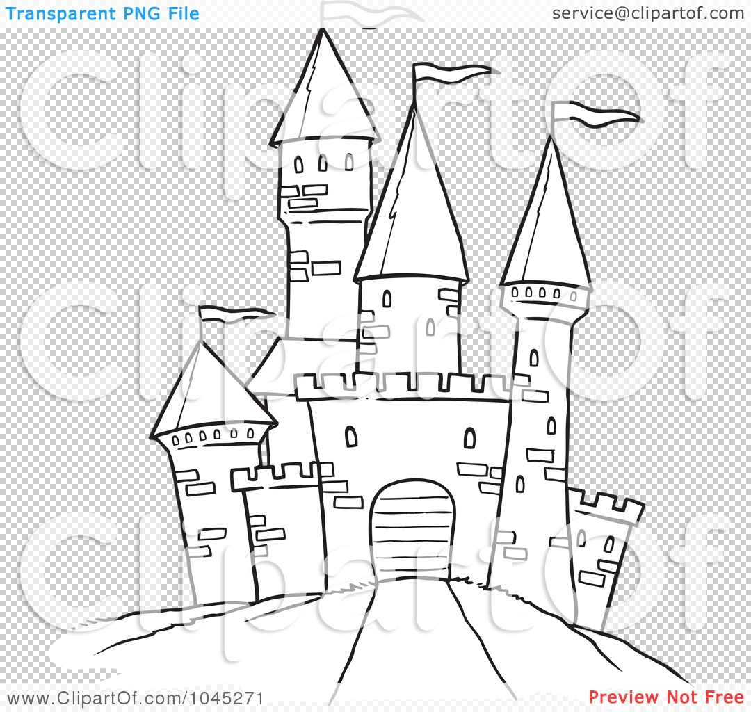 royalty-free (rf) clip art illustration of a cartoon black and