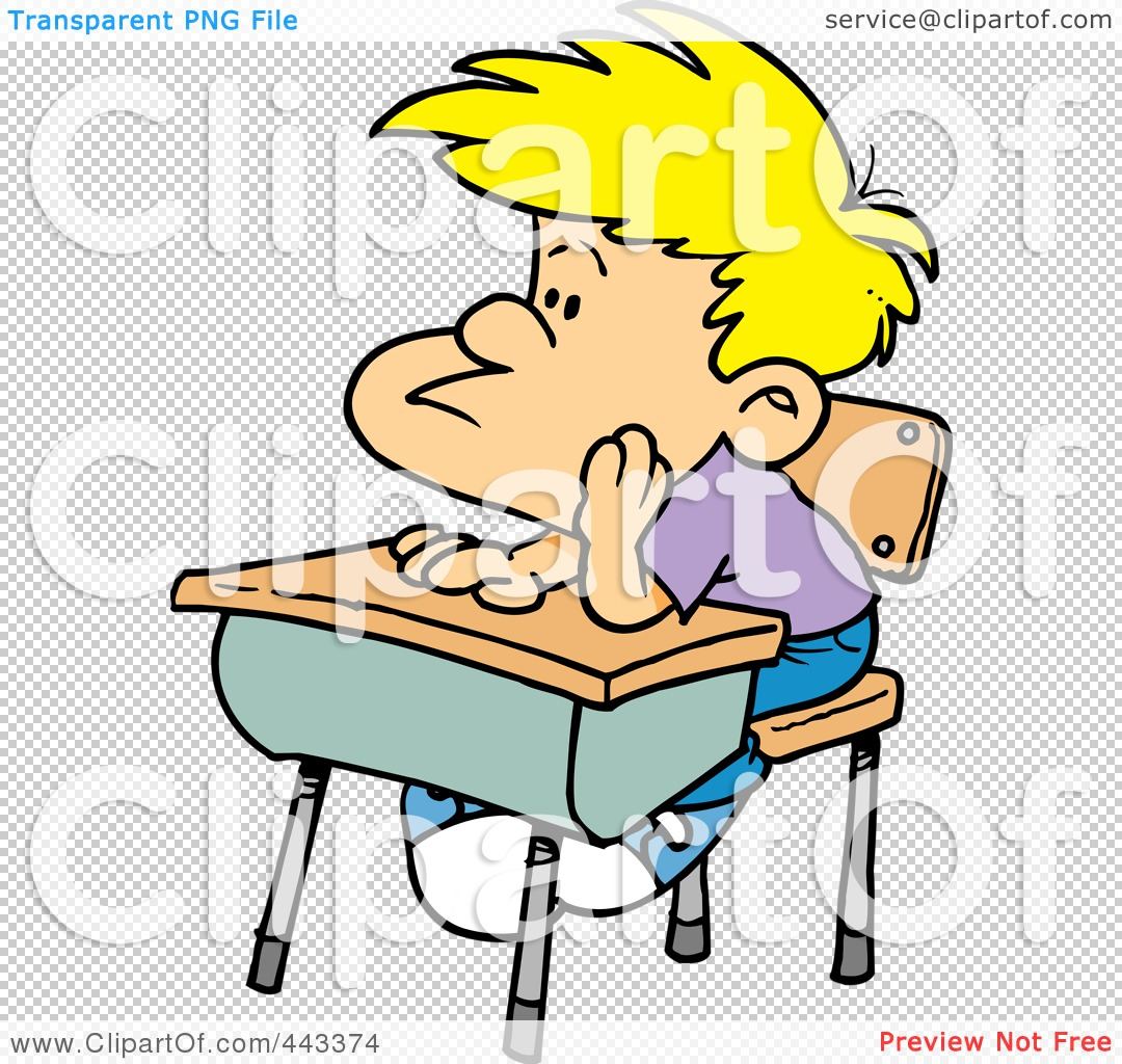 Bored Student Clipart Images & Pictures - Becuo