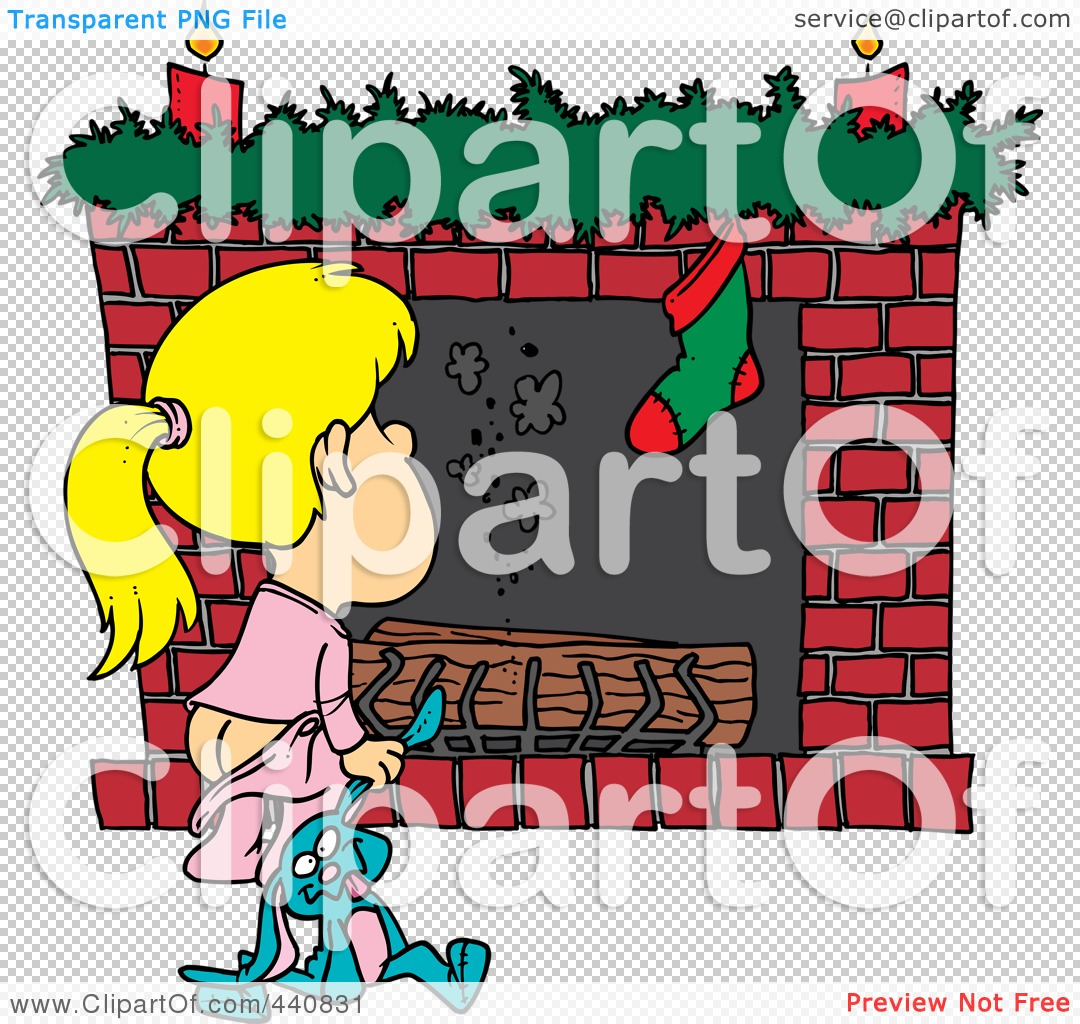 royalty free rf clip art illustration of a cartoon christmas