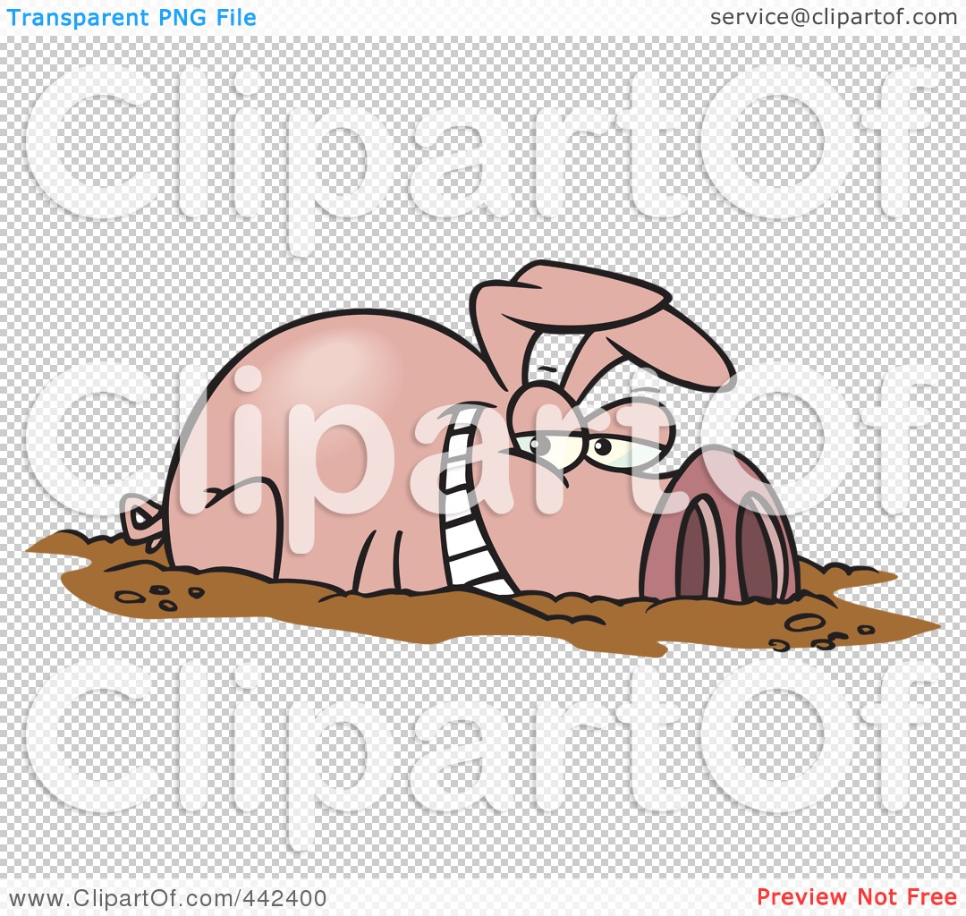 Pig in Mud Clip Art http://hawaiidermatology.com/pig/pig-mud-clip-art.htm
