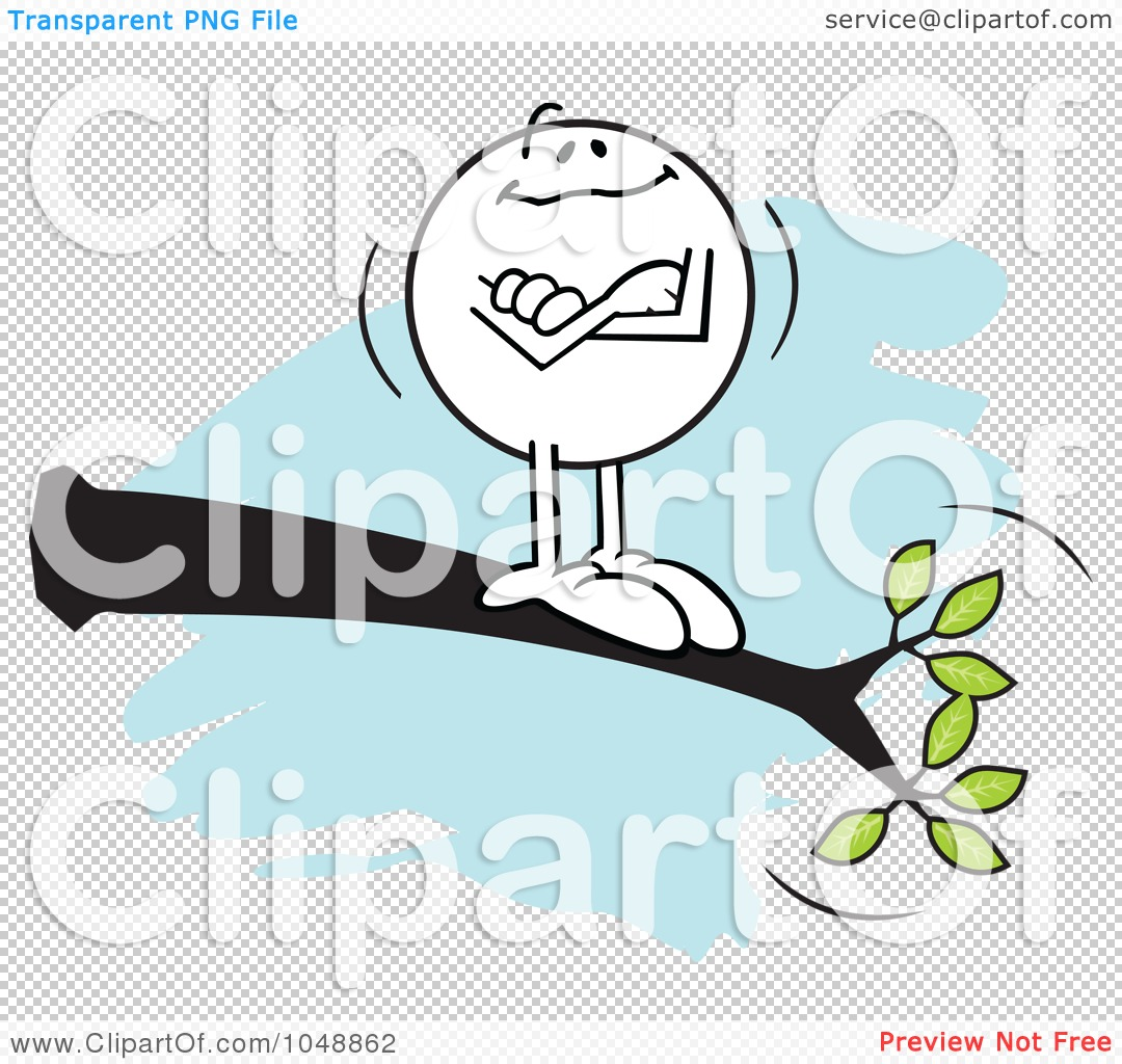 Royalty Free RF Clip Art Illustration Of A Confident