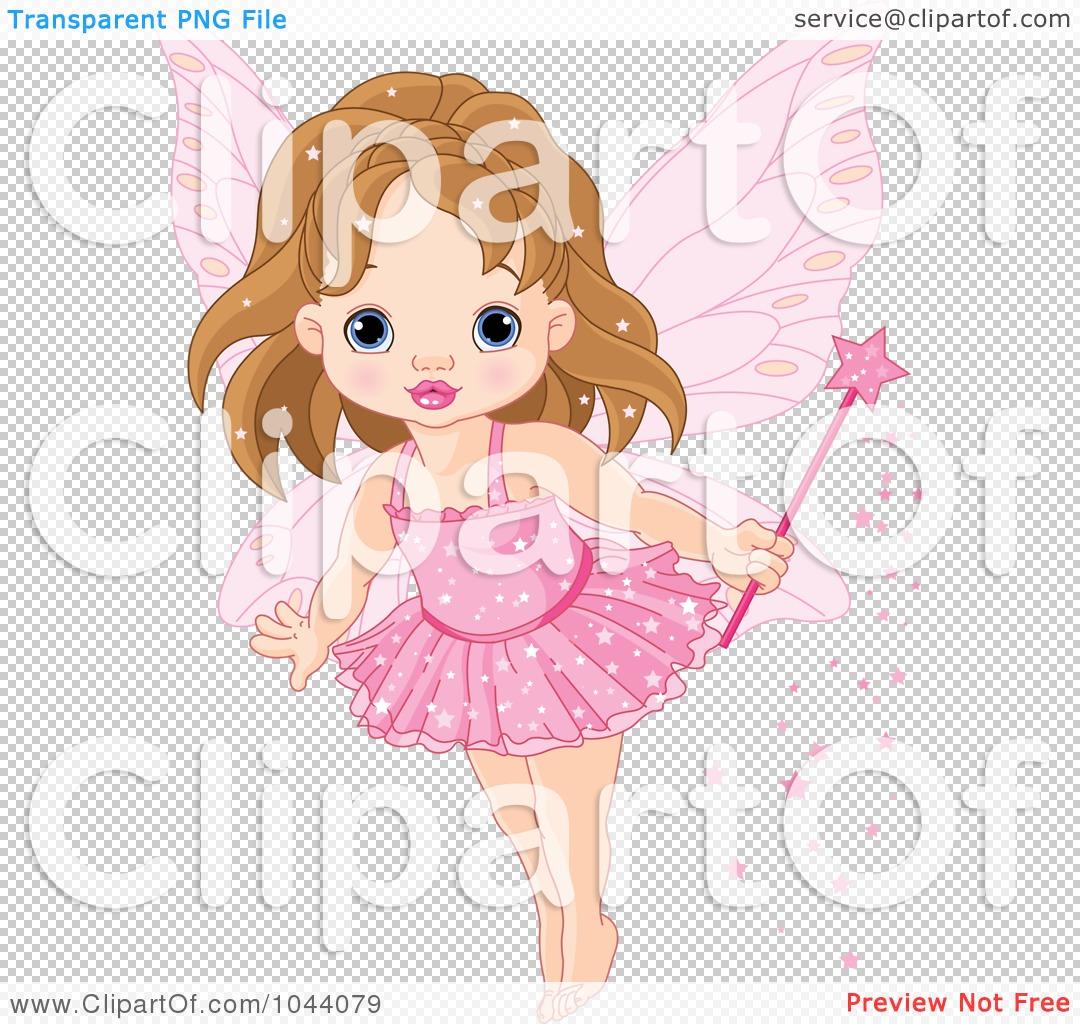 royalty free rf clip art illustration of a cute fairy princess
