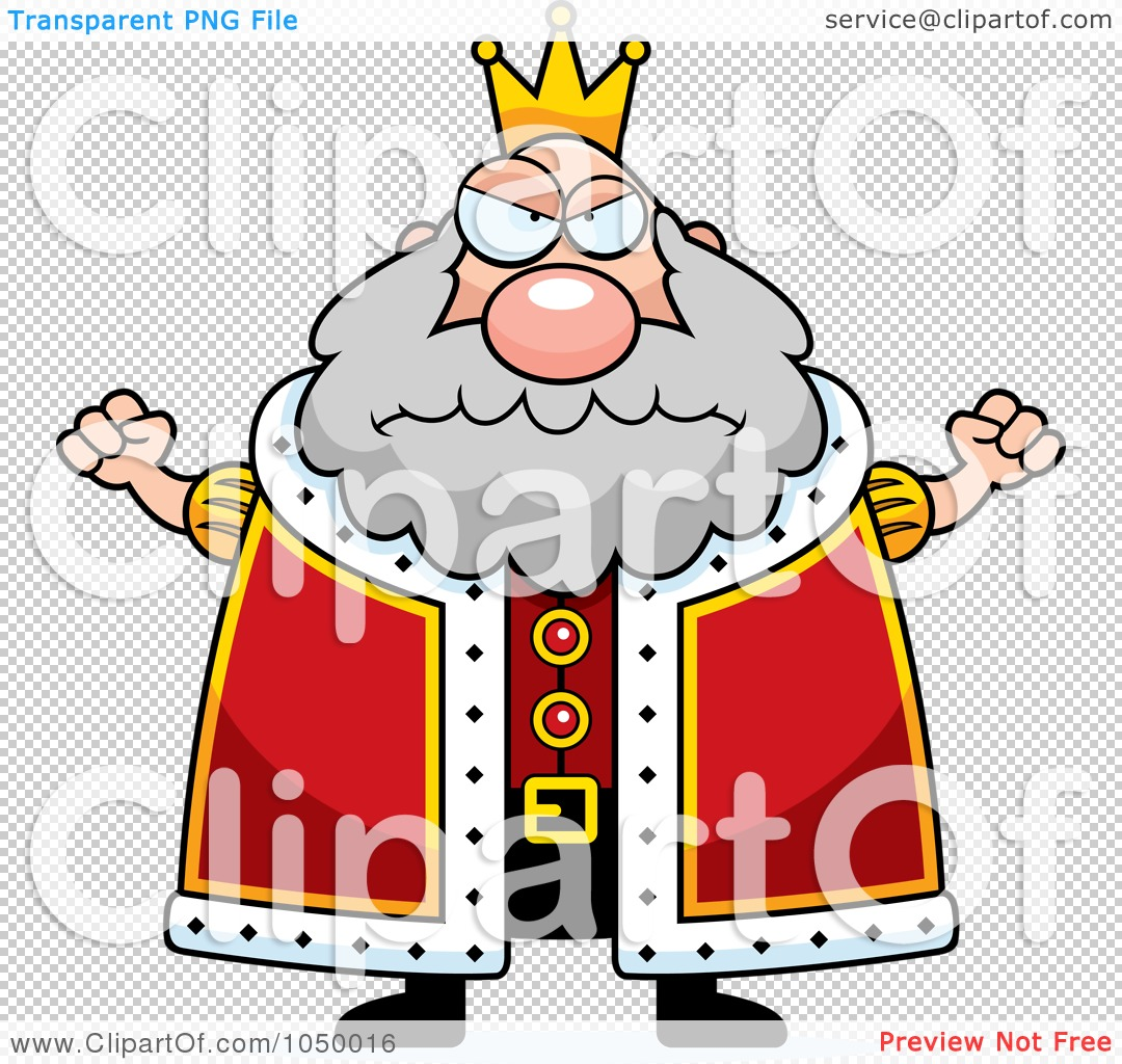 Royalty-Free (RF) Clip Art Illustration Of A Mad Plump