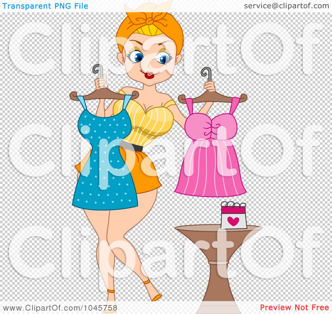 What to Wear Clip Art