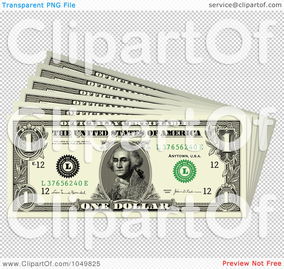 Royalty-Free (RF) Clip Art Illustration of a Stack Of Fanned ...