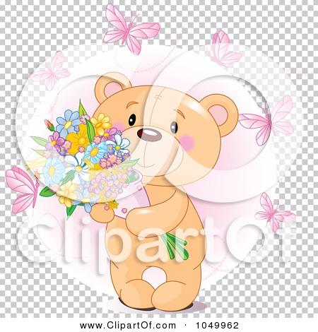 Royalty-Free (RF) Clip Art Illustration of a Sweet Teddy ...