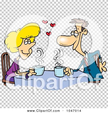 Royalty-Free (RF) Clip Art Illustration of Cartoon Coffee ...