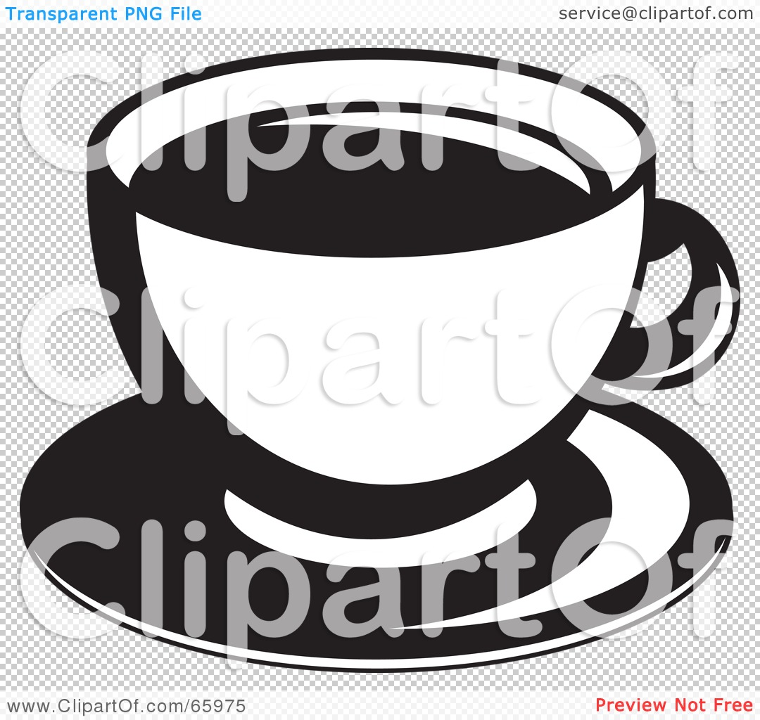 Clipart Coffee Cup And Saucer