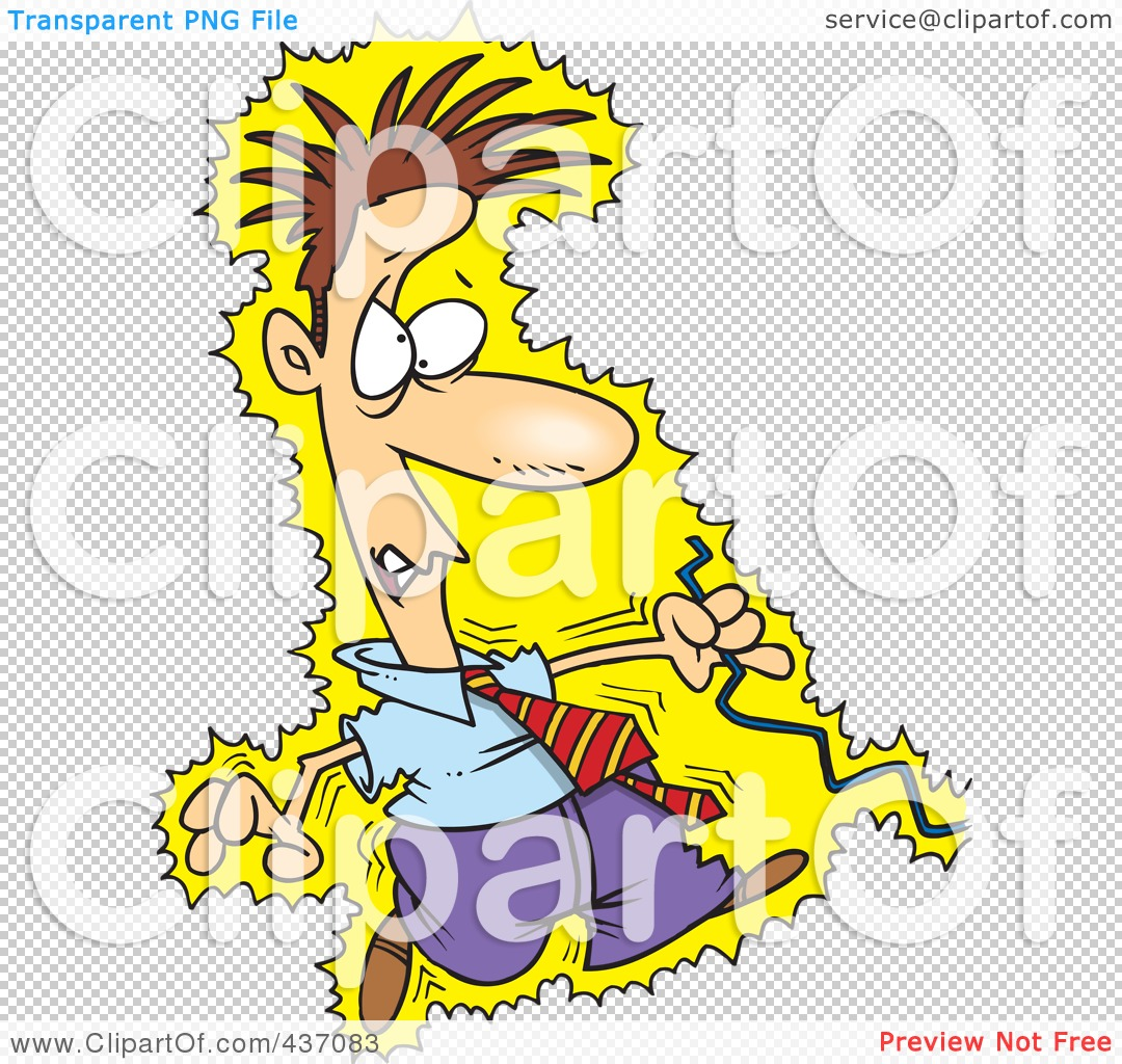 Royalty Free Rf Clipart Illustration Of A Cartoon