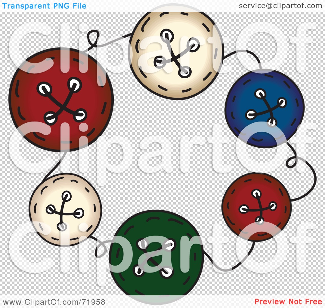 Royalty-Free (RF) Clipart Illustration of a Circle Of Colorful ...