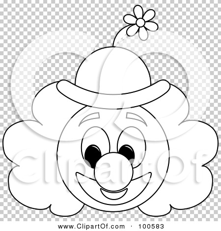 RoyaltyFree RF Clipart Illustration of a Coloring Page Outline