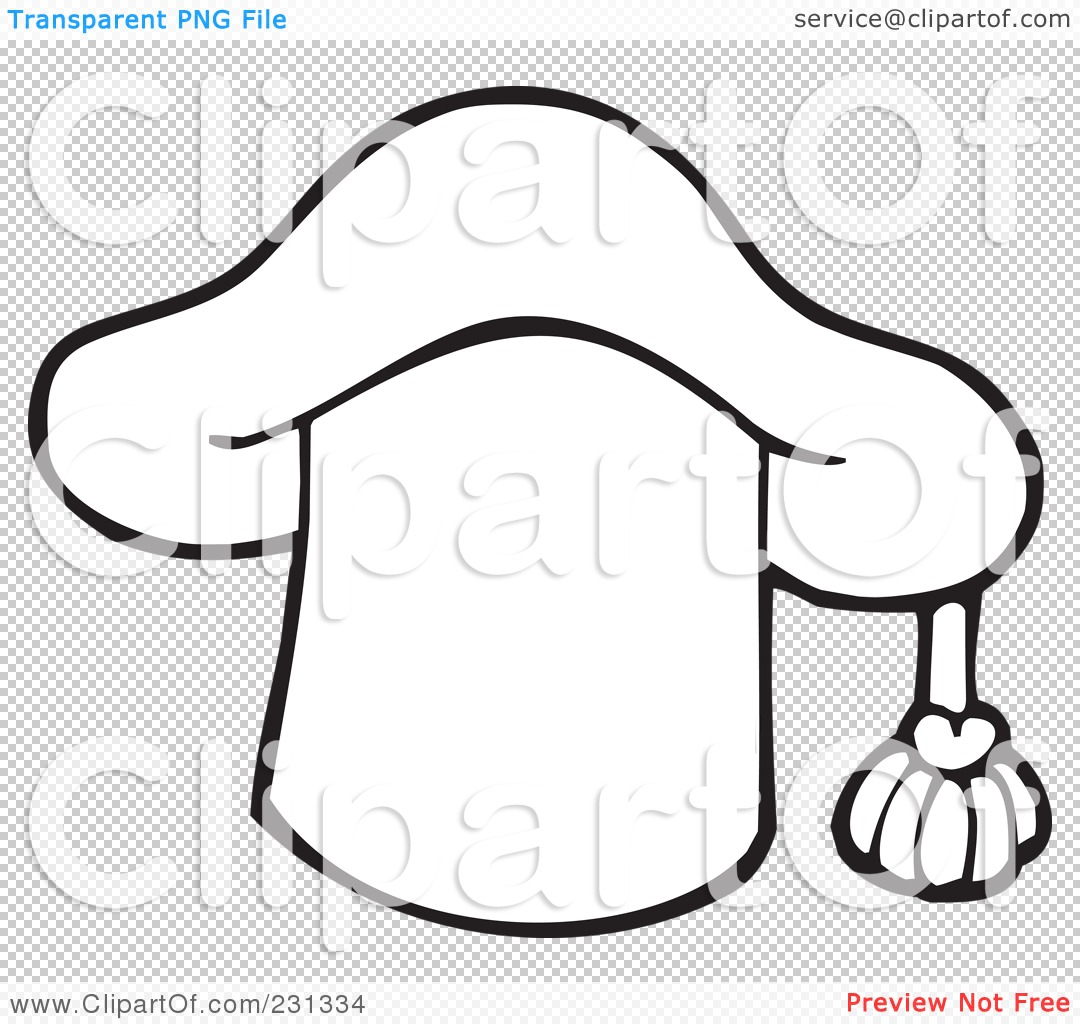 Royalty-Free (RF) Clipart Illustration of a Coloring Page Outline ...