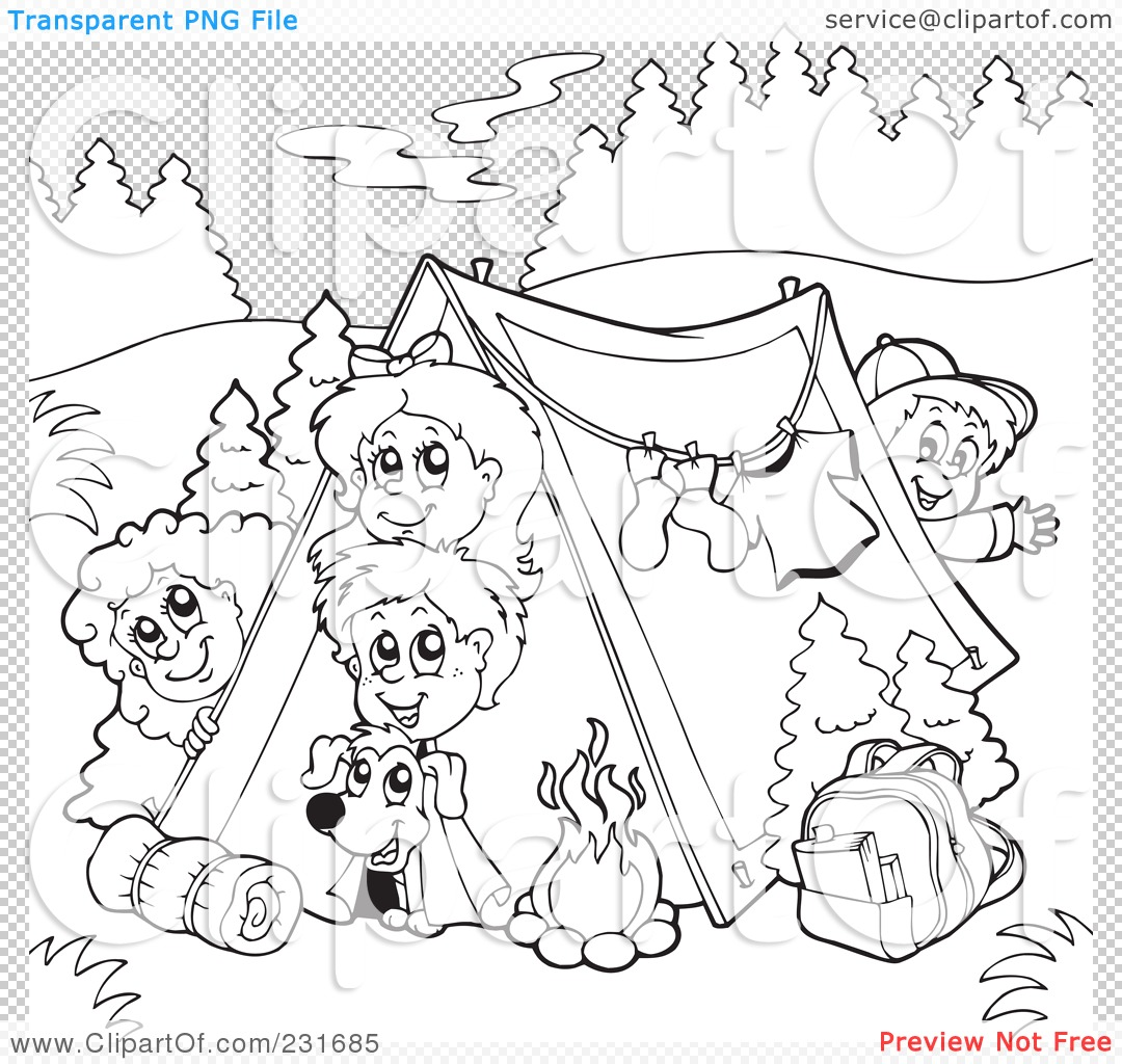 awesome girl scout camping coloring pages pictures - lcptracker.us ... - Girl Scout Camping Coloring Pages