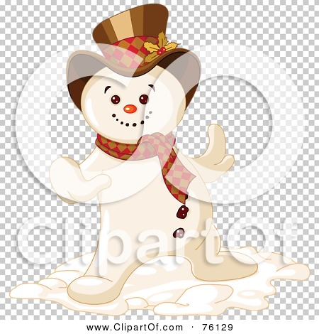 Royalty-Free (RF) Clipart Illustration of a Cool Snowman Dancing ...