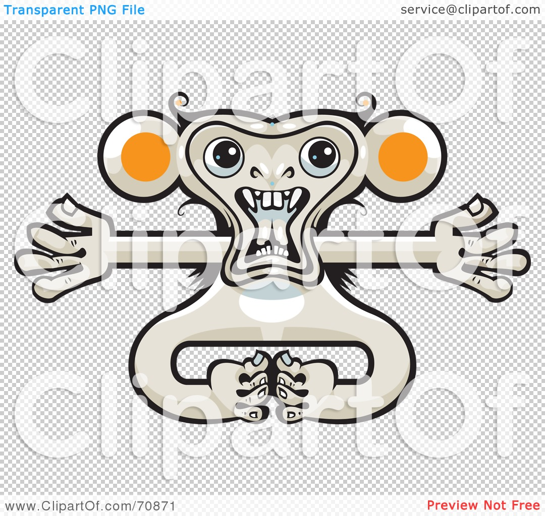 Displaying 16&gt Images For  Crazy Monkey Clipart