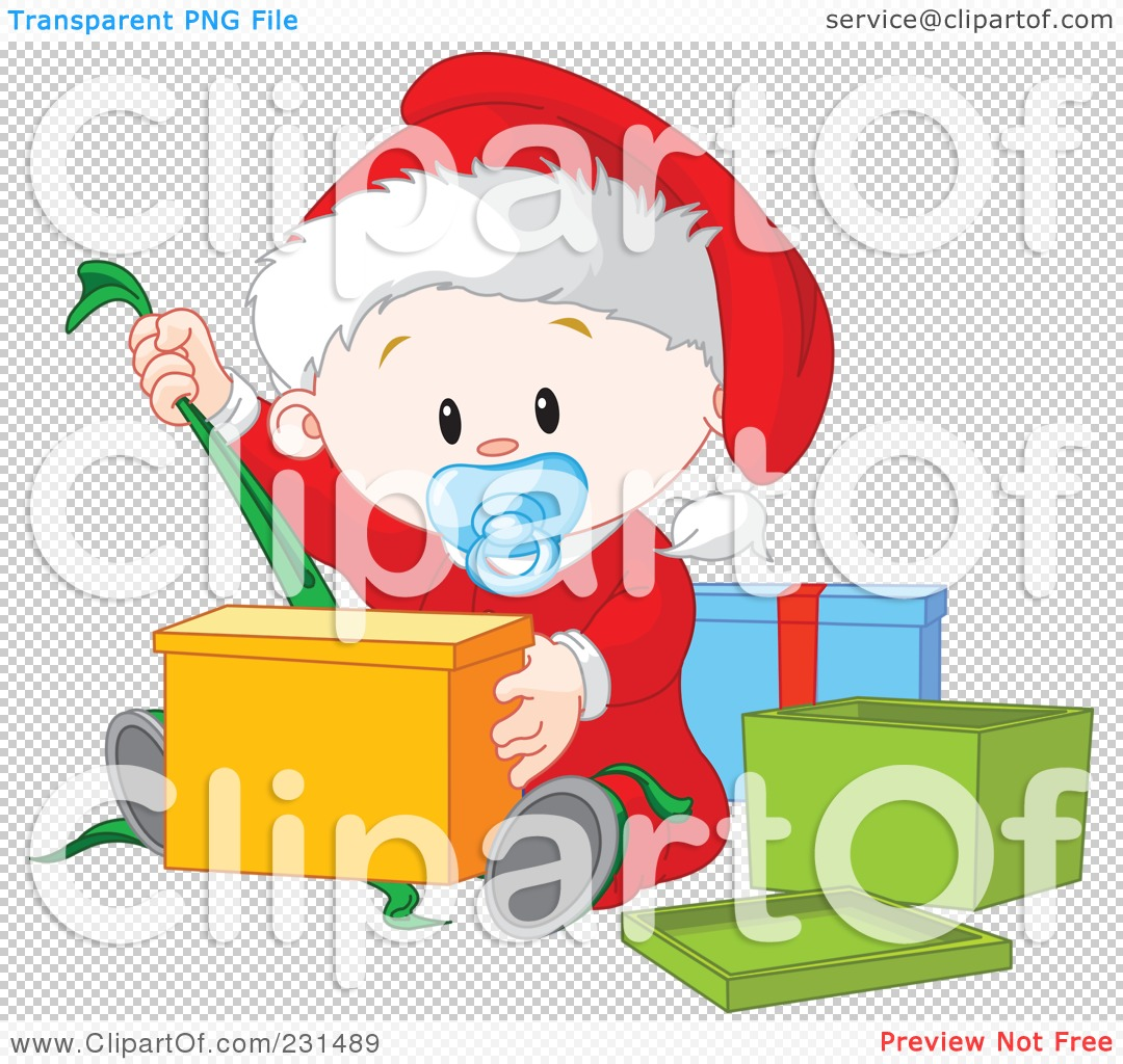 Royalty-Free (RF) Clipart Illustration of a Cute Baby Boy ...