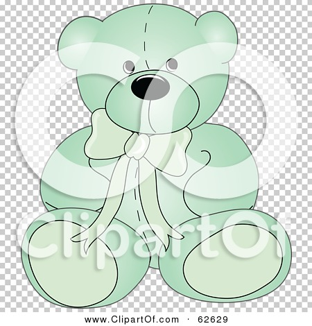 Royalty-Free (RF) Clipart Illustration of a Cute Green ...