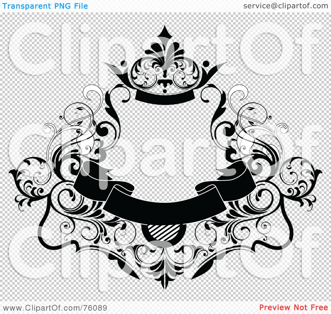 Royalty Free Rf Clipart Illustration Of A Decorative Black