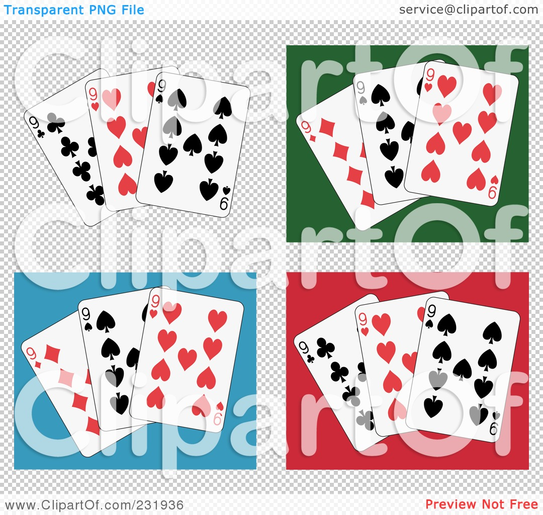 People Playing Cards Clipart Royalty-free clipart