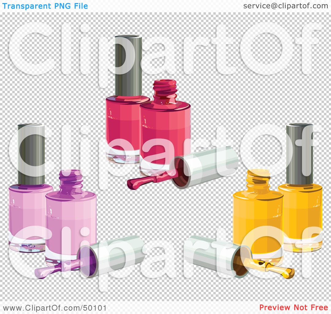 Royalty Free RF Clipart Illustration Of A Digital Collage Of Pink