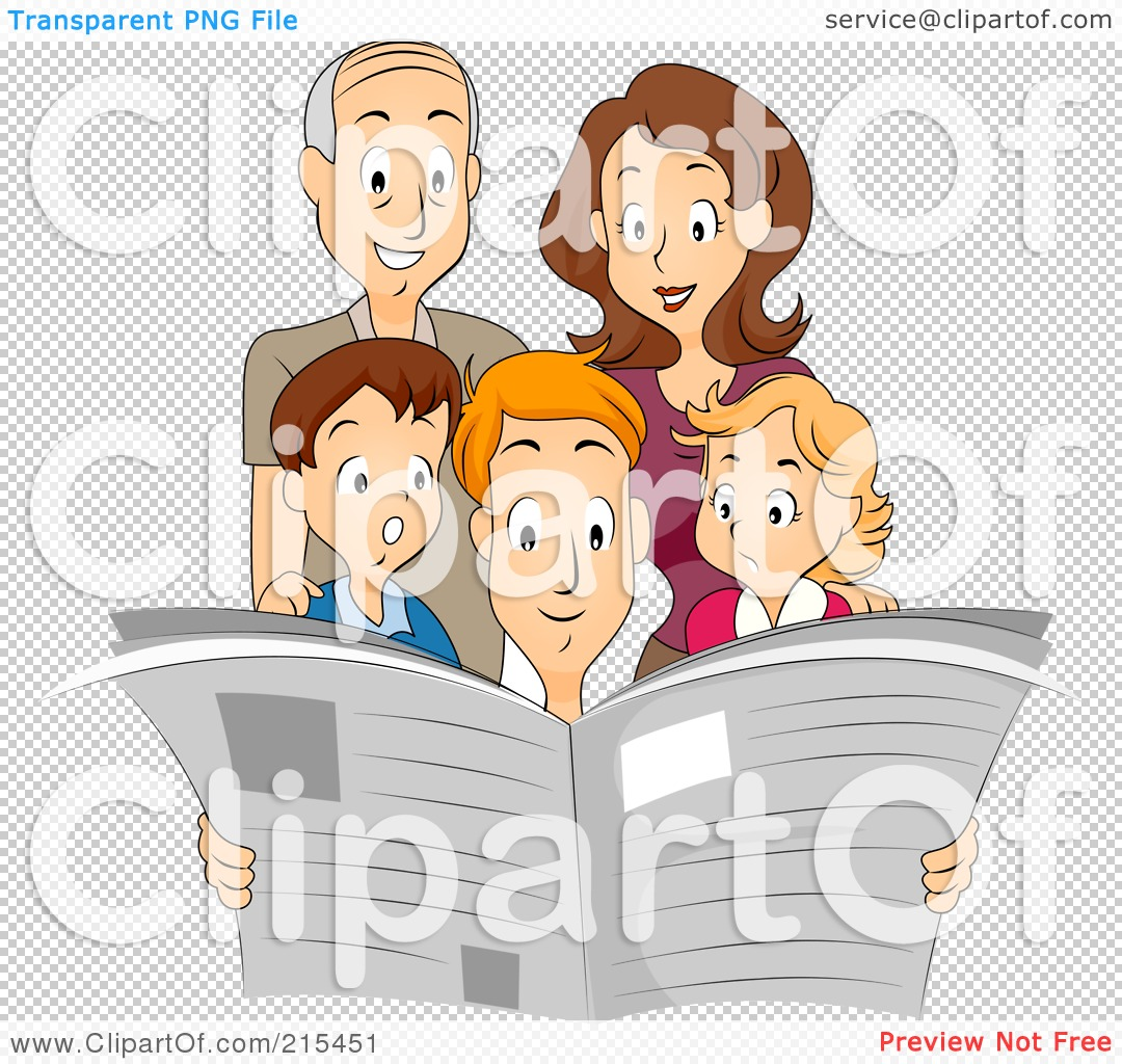 clipart family reading together - photo #48