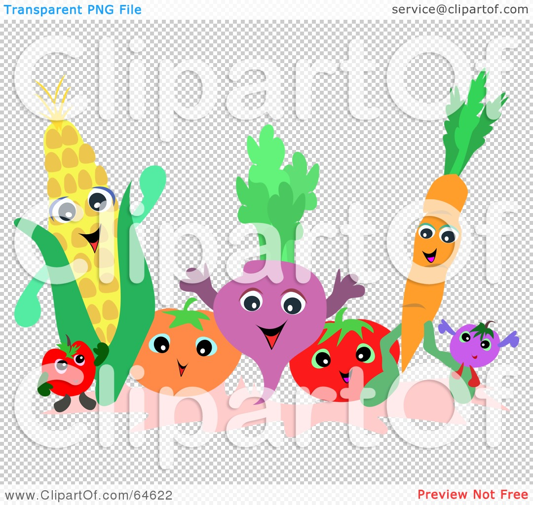 royalty free rf clipart illustration of a friendly group of