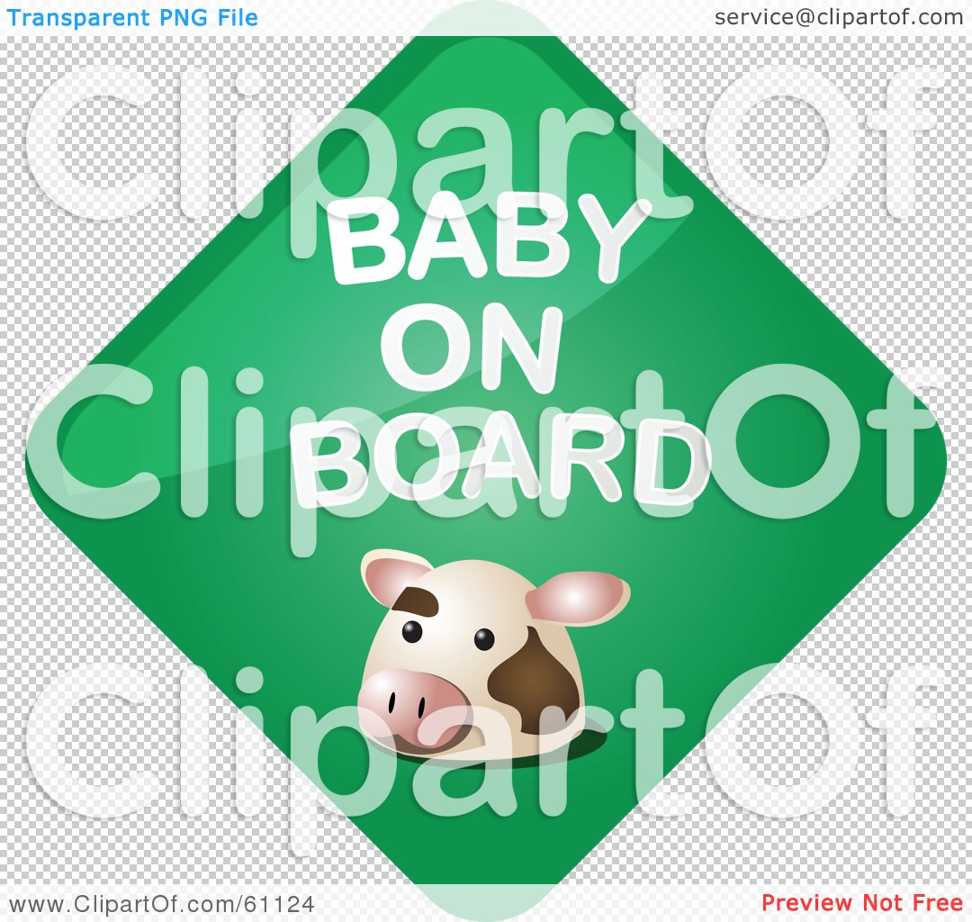 clipart baby on board-#28