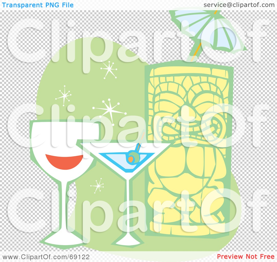 Tiki Statue Clipart Royalty-free clipart picture