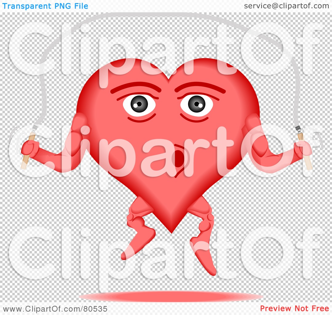 Royalty-Free (RF) Clipart Illustration of a Healthy Heart ...