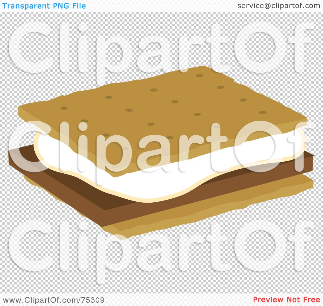 S'mores Clip Art http://www.clipartof.com/portfolio/rosiepiter/illustration/marshmallow-and-chocolate-on-graham-crackers-smores-75309.html