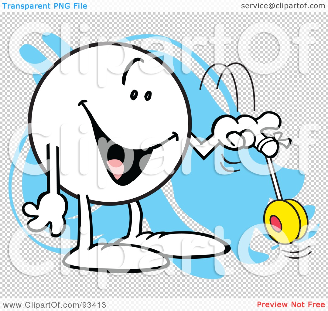 Royalty-Free (RF) Clipart Illustration of a Moodie Character With ... for Clipart Yoyo  45hul