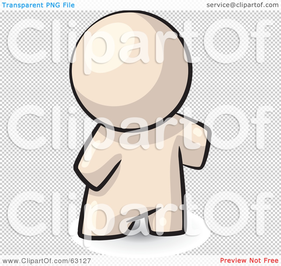 Royalty-Free (RF) Clipart Illustration of a Nude Human Factor Man ...
