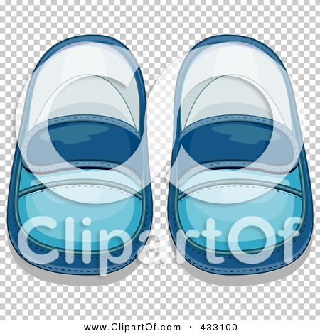 Royalty-Free (RF) Clipart Illustration of a Pair Of Blue Boy's ...