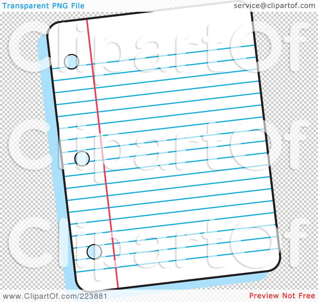 Cartoon Lined Paper - More information